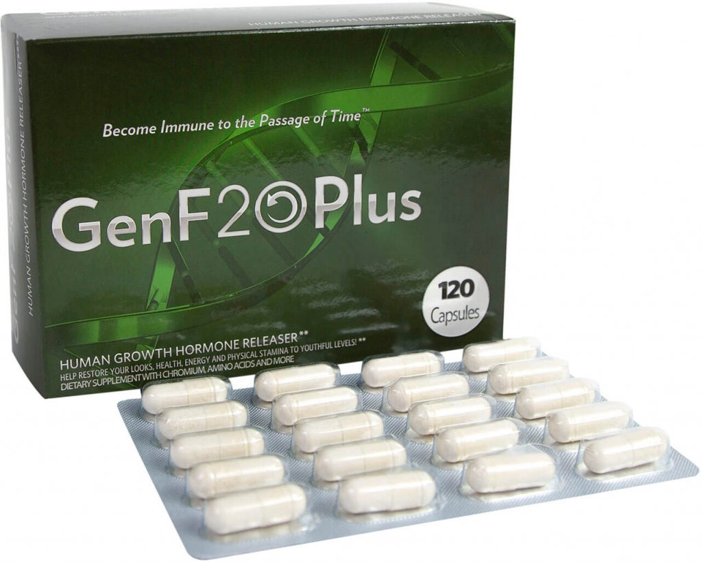 GenF20 Plus box and pills